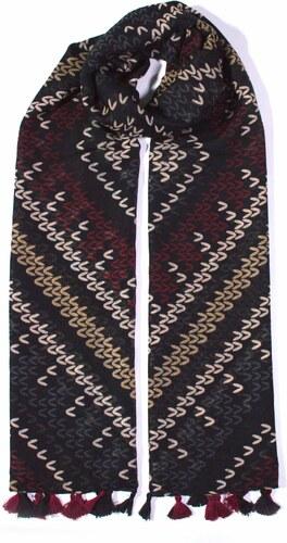 Y-wu Dlouhý šátek přes ramena BOHO s třásněmi 180cm 90cm 3F2-121437 ... 5a16002c0a