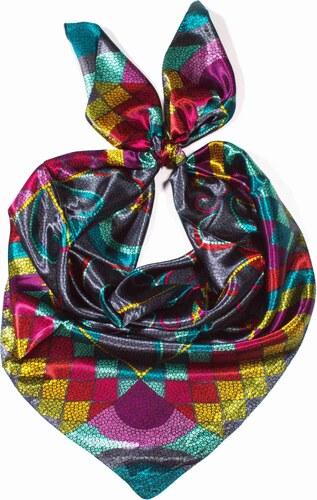 -60% Y-wu Saténový šátek na krk čtvercový 90cm   90cm 8B1-121734 245f9e26fc