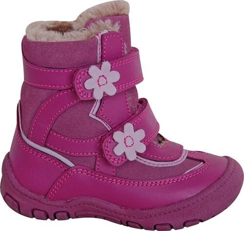 49e38c24dd Protetika Dievčenské zimné topánky DIANA - ružové - Glami.sk