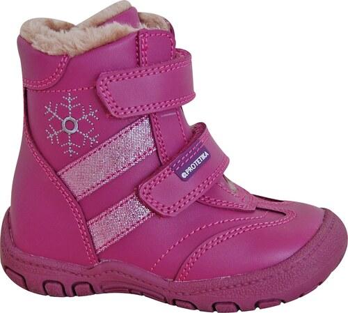 Protetika Dívčí zimní boty Gigi- růžové - Glami.cz b2206d7c55