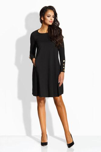 0c711555680 Dámské elegantní šaty Lemoniade L217 černé - Glami.cz