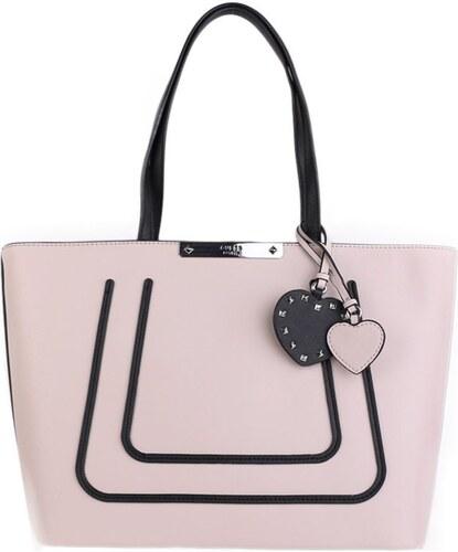 Guess luxusné značkové kabelky do ruky ružové VO669323 0815eb594a3