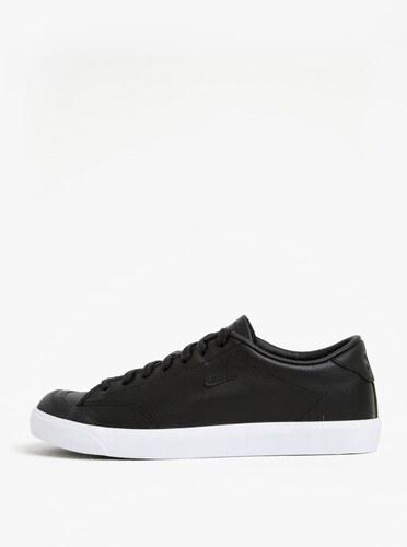 Čierne pánske kožené tenisky Nike All Court 2 Low - Glami.sk 1f363838b62