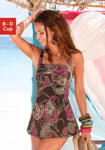 b886d0e9f3d0 LASCANA Plavkové šaty s riasením - Glami.sk