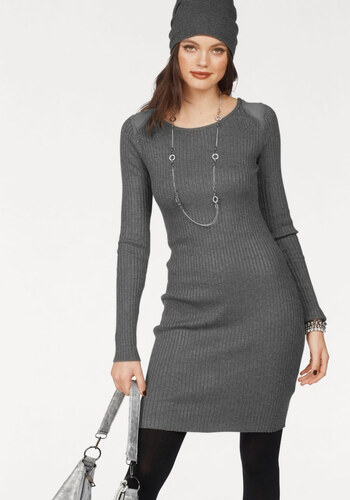 Melrose Pletené šaty - Glami.sk ec0705120d
