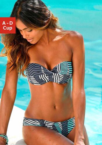 Merevítős bandeau bikini e13c12502a