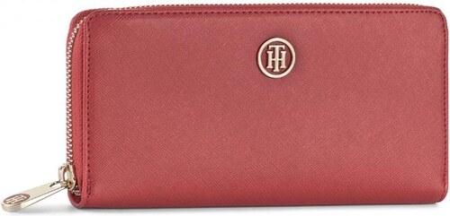 ac7170876e1 Velká dámská peněženka TOMMY HILFIGER - Honey Large Za Wallet AW0AW04281 614