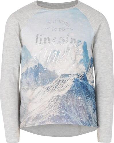 30866ea90c0f Sivé dievčenské tričko s dlhým rukávom 5.10.15 - Glami.sk