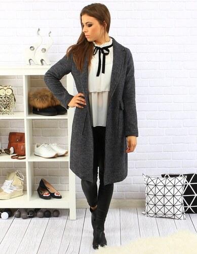 Dstreet Antracitový dámsky kabát Enrica - Glami.sk 6f2cf18ef75