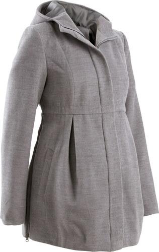 Bonprix Tehotenský kabát s kapucňou - Glami.sk 08f6b61179e