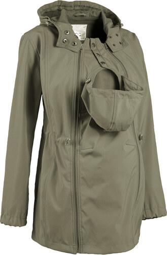 Bonprix Tehotenská móda bunda softshell s detskou vsadkou - Glami.sk ad402d9f44f