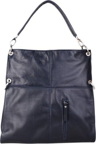 Talianske kožené crossbody kabelky tmavomodré Fulvia - Glami.sk fc15c493a5e