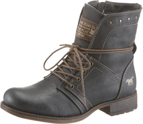 Mustang Shoes Šnurovacie topánky s lesklými nitmi - Glami.sk d96fefe81c