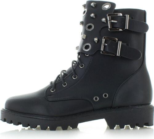 Vices Čierne členkové topánky Keanu ll - Glami.sk a68a27ac554
