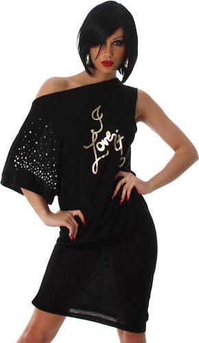 Voyelles Dámské šaty s jedním rukávem - Glami.cz ddd95a37ae