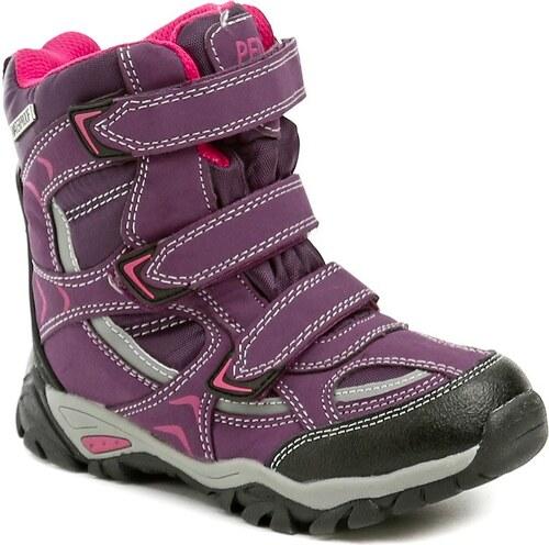 d5cb0fddf45 Peddy PX-531-30-01 fialové dívčí zimní boty - Glami.cz