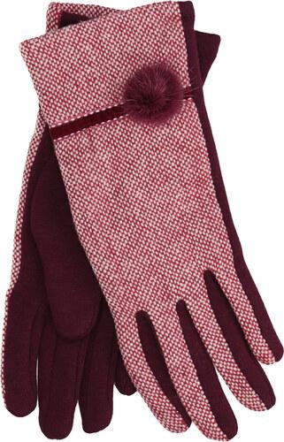 Baťa Dámské rukavice s bambulkou - Glami.cz 71369a70dc