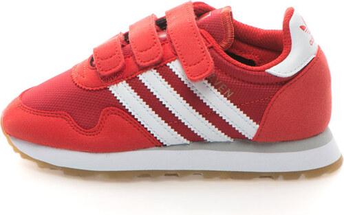 Adidas ORIGINALS Haven Tépőzáras Sneakers Cipő Nyersbőr Hatású Szegélyekkel bb4ce1e737