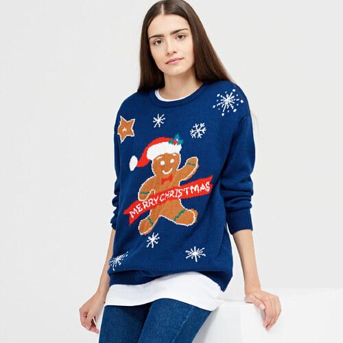 Cropp - Ladies` sweater - Tmavomodrá - Glami.cz 6533effa7f