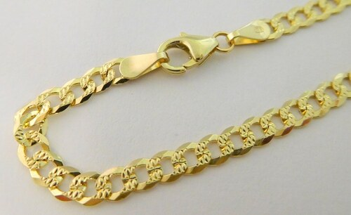 230f0397d Pretis Pánský/dámský mohutný luxusní zlatý náramek PANCER 20cm 585/2,90gr  3040088