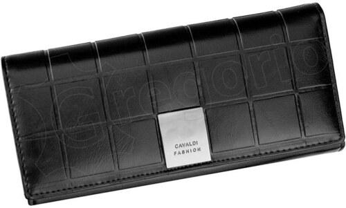 Dámska kožená peňaženka Cavaldi P24-3 - čierna - Glami.sk 6813bb84261