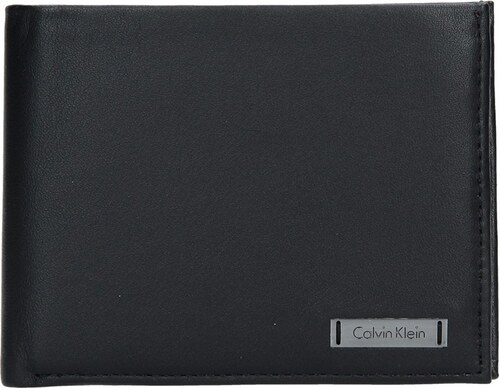 Pánská kožená peněženka Calvin Klein Slim - černá - Glami.cz 0c81d0dfca0