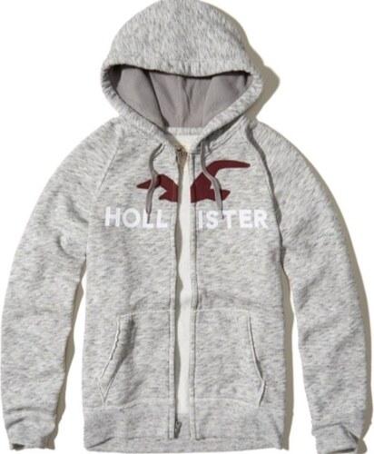 Hollister Co. Hollister pánská mikina s nášivkou - Glami.cz 50371bd6ea5