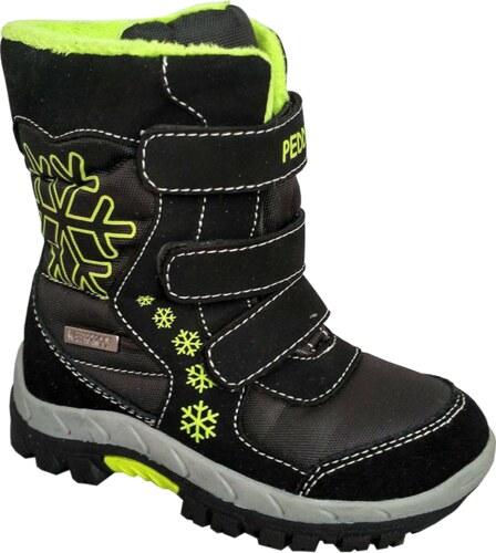 Peddy Chlapecké sněhule - černo-zelené - Glami.cz 96771eb4df