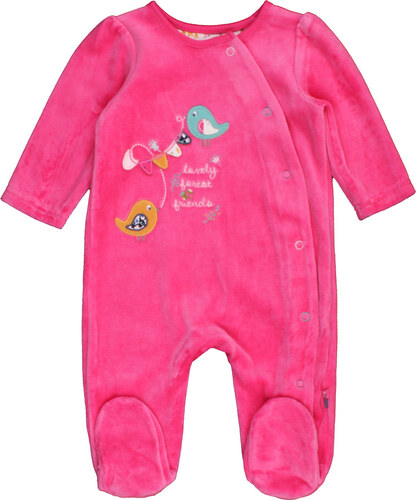 Mothercare Madárkás rózsaszín plüss rugdalózó - Glami.hu 3bb75c8034
