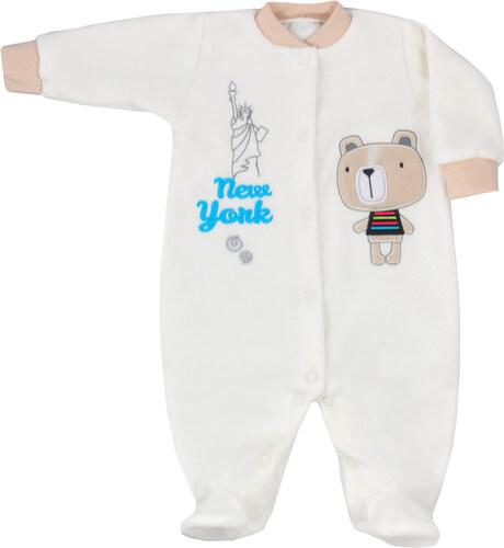 Koala Baby New York törtfehér plüss rugdalózó - Glami.hu 1d2327ce7e