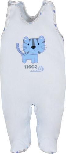 Koala Baby Tigrises kék ujjatlan rugdalózó - Glami.hu 85e4418d8c