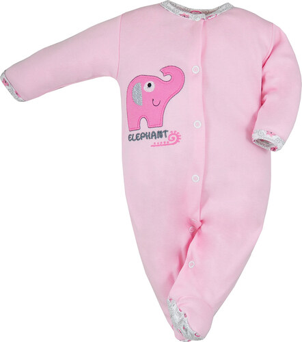 Koala Baby Elefántos rózsaszín rugdalózó - Glami.hu 12e57551f3