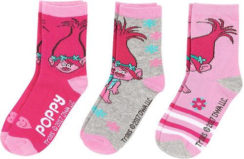 Trollok fukszia-szürke-rózsaszín zokni szett - Glami.hu 959edfa00b