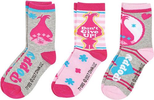 Trollok szürke-rózsaszín zokni szett - Glami.hu b11e9c6cb2