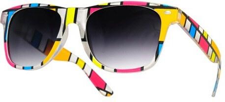 851144760 Sunmania Wayfarer slnečné okuliare 051 farebné - Glami.sk