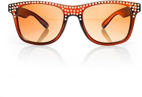 Sunmania Wayfarer slnečné okuliare 061 hnedé - Glami.sk a14743d5030