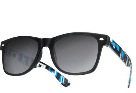 0f49121af Sunmania Wayfarer okuliare 075 modré - Glami.sk