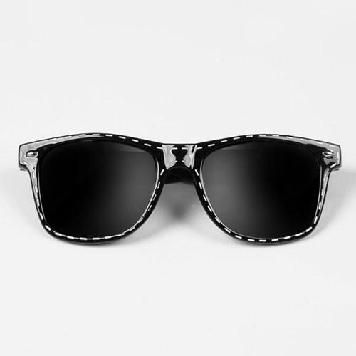 5cf5d6ed8 Sunmania Wayfarer okuliare 049 čierne - Glami.sk