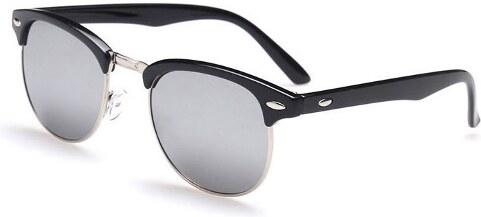 3bbd989b6 Sunmania slnečné okuliare Clubmaster 109 strieborné - Glami.sk