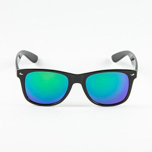 d0bd86457 Sunmania Wayfarer zrkadlové okuliare 036 zelené - Glami.sk