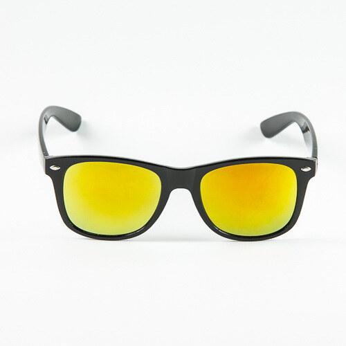 88d18ef03 Sunmania Wayfarer zrkadlové okuliare 037 žlté - Glami.sk