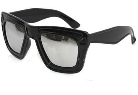 5b9ae7797 Sunmania Wayfarer zrkadlové okuliare 074 čierne - Glami.sk