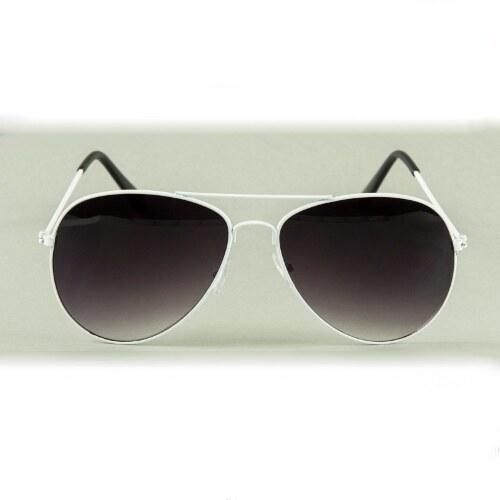 Sunmania Pilotky okuliare 011 biele - Glami.sk d42395db9b4