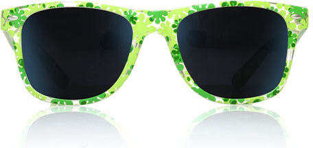 1b9e03c00 Sunmania Wayfarer okuliare 083 zelené - Glami.sk