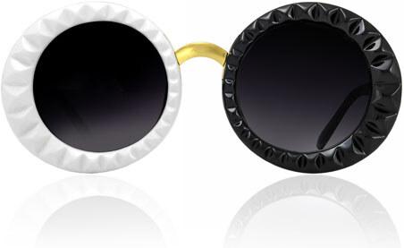 Sunmania dámske slnečné okuliare 360 čierno-biele - Glami.sk 843f0504c73