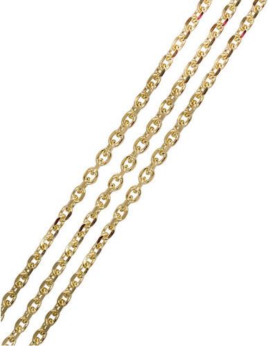 Brilio Silver Zlatá retiazka Anker 55 cm 471 001 01054 - 5 fe689727105