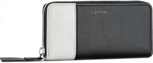 6a7b3cb70f Nagy női pénztárca CALVIN KLEIN BLACK LABEL - Urban Large Zip Arou  K60K603814 001