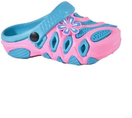 Afrodit Gumové dívčí boty Blue růžové 25 - Glami.cz 726b239a8f