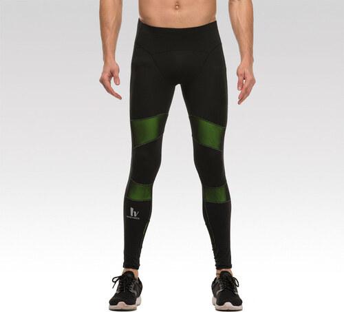 Kompresné pánske fitness legíny Empower čierne Vansydical - Glami.sk dc0183cd8b