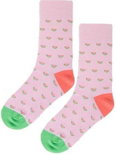 Beyou Růžové ponožky s melouny - Glami.cz 756d93644e
